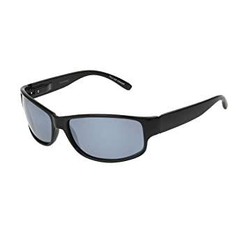 Foster Grant Men's Theory Rectangular Sunglasses, Black, One Size